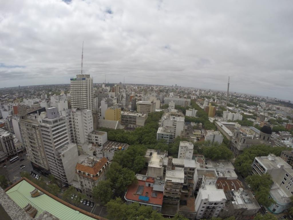 Montevidéu vista de cima