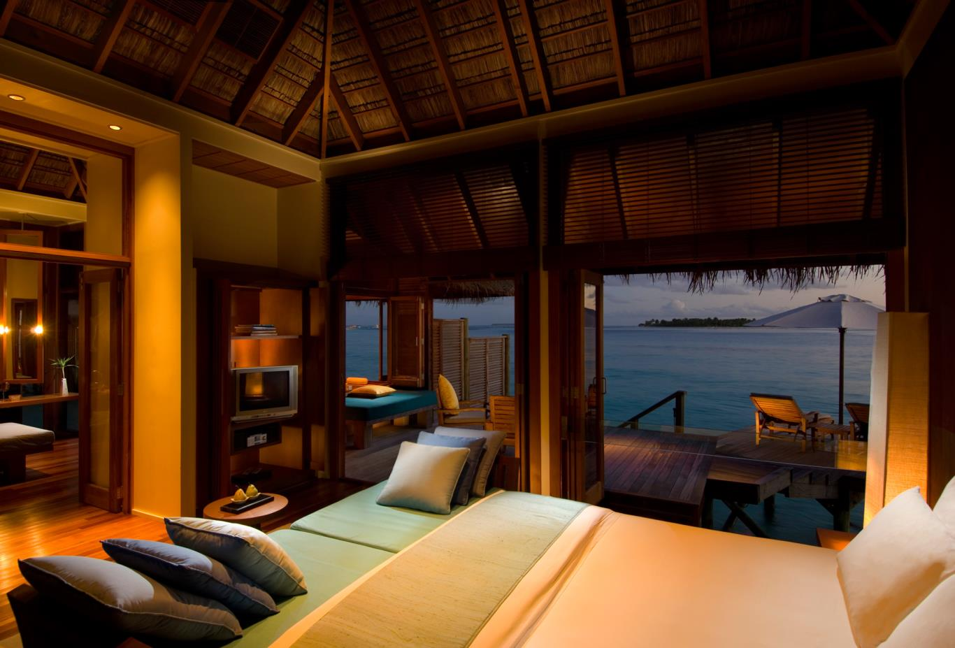 Retreat Water Villa Bedroom