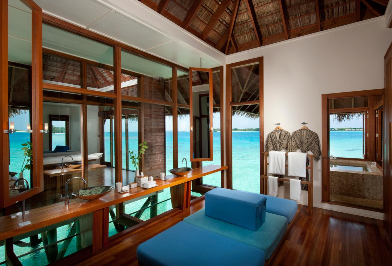 Retreat Water Villa Interior