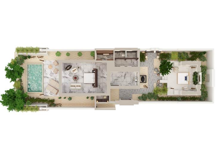 Deluxe Villa overview