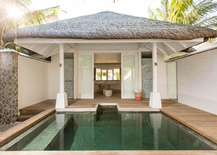 Beach Pool Villa pool