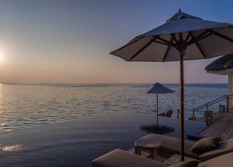 Lux Villa pool and view