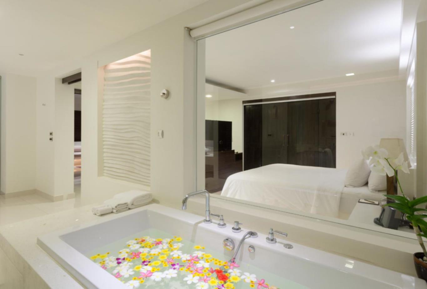 Spa Pool Suite bathroom