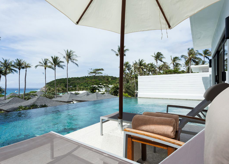 Two Bedroom Grand Pool Suite view