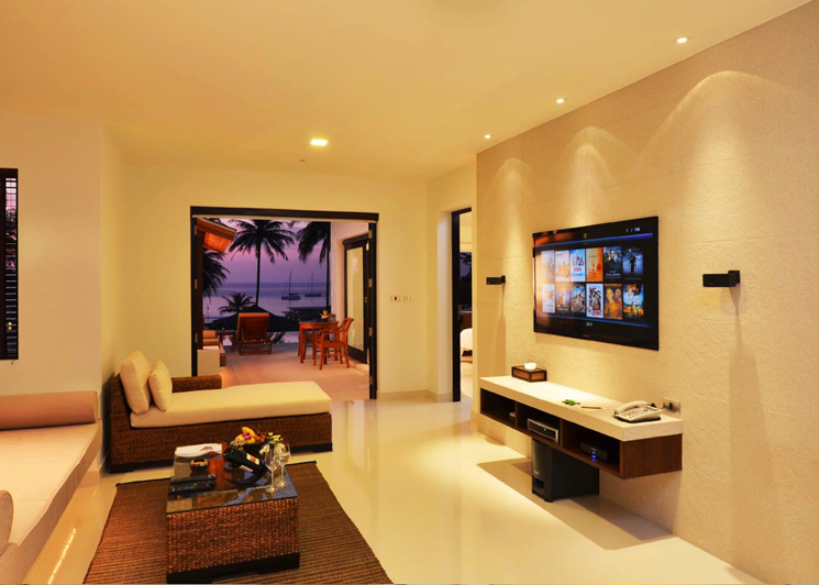 Two Bedroom Grand Pool Suite evening