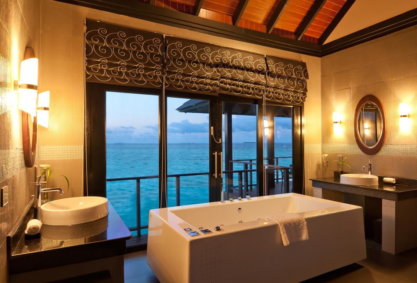 Aqua Retreat Bathroom
