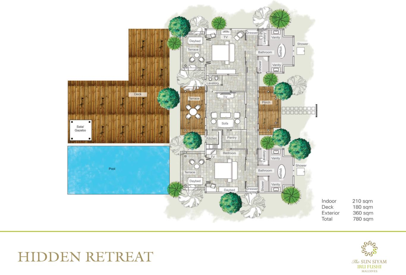 Hidden Retreat Floorplan