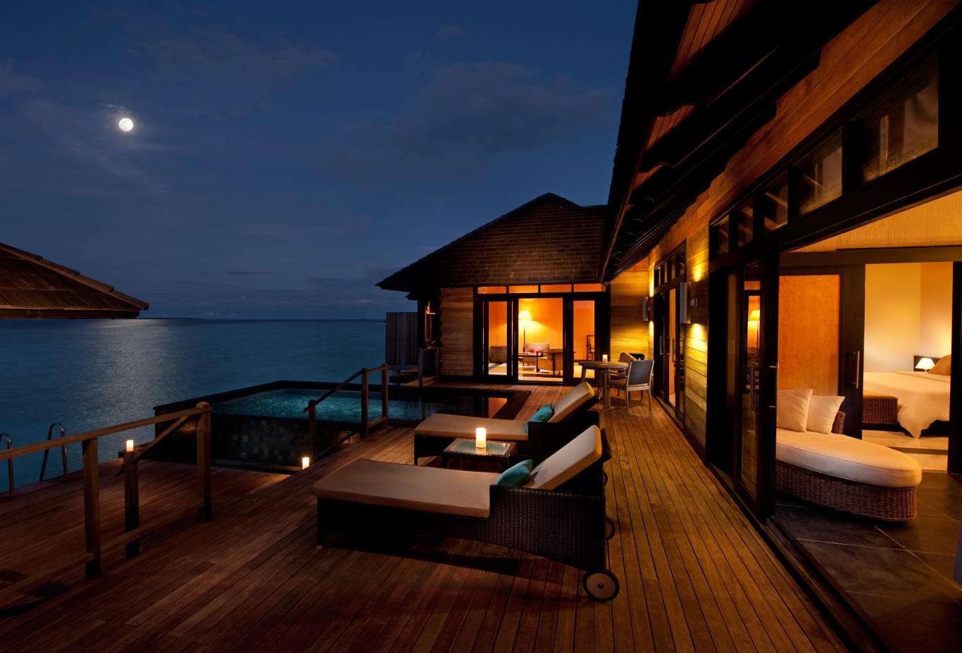 Infinity Water Villa Exterior