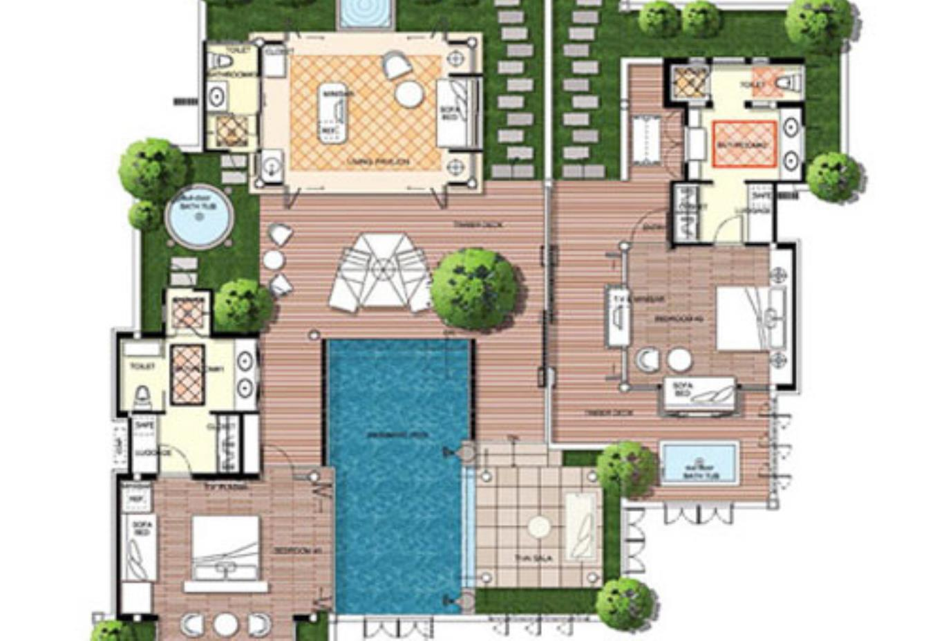 Floorplan Presidntial Suite