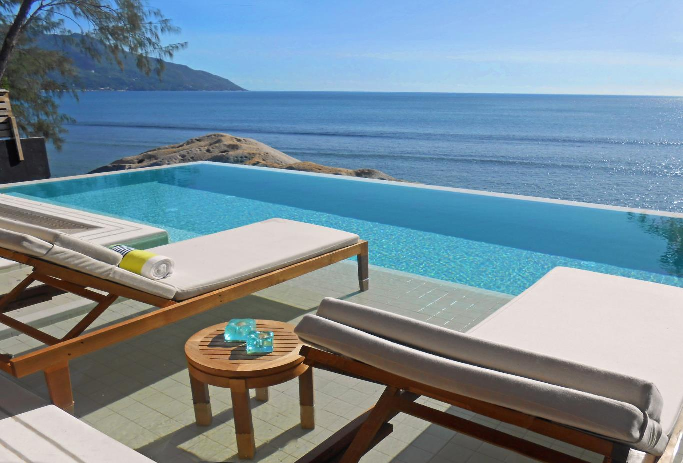 Grand Ocean View Pool Villa Infinity Pool