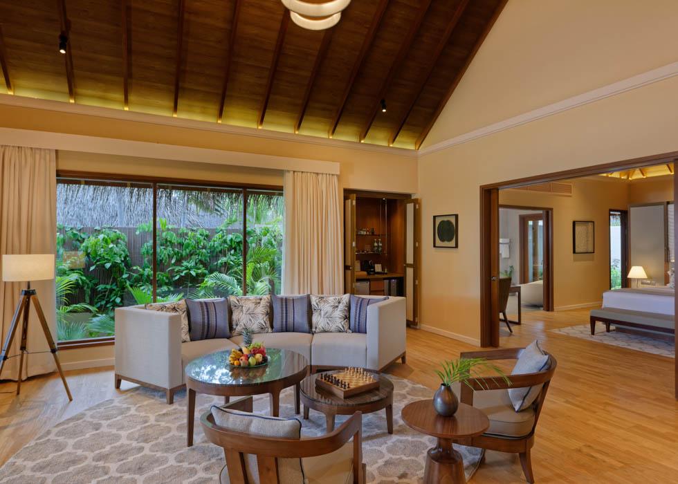 Baros Residence living room