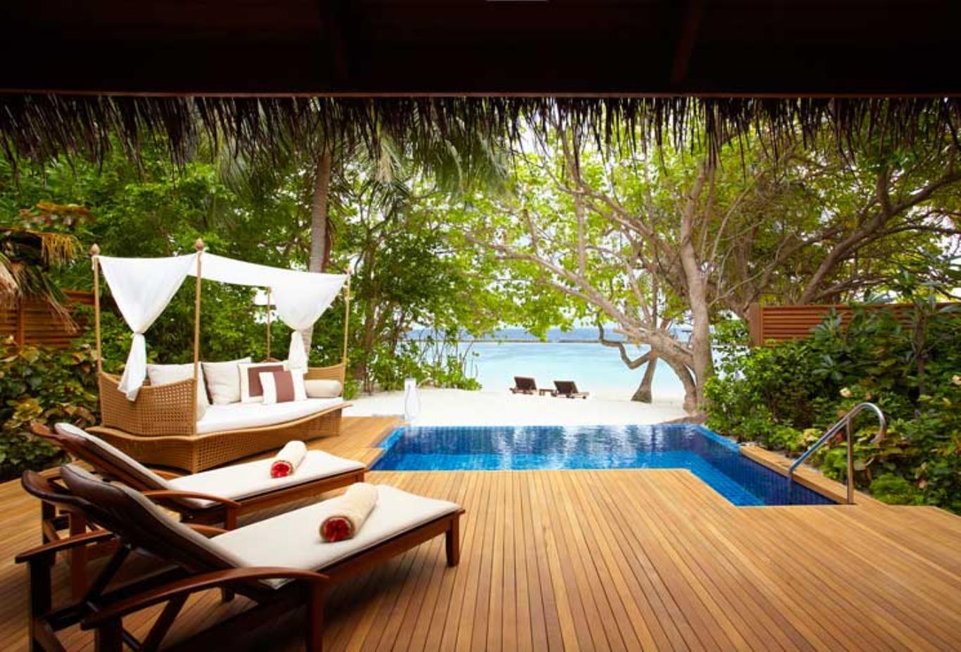 Baros Pool Villa Exterior
