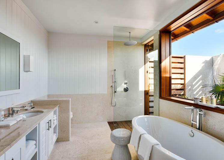 COMO Parrot Cay Two Bedroom Beach House Bathroom