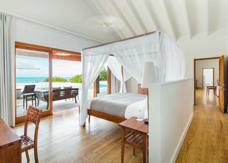 COMO Parrot Cay COMO Villa Bedroom