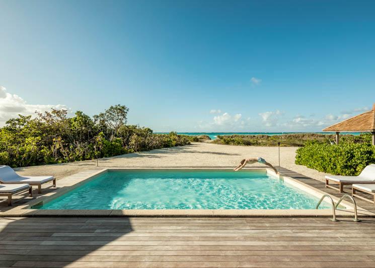 COMO Parrot Cay Two Bedroom Beach Villa Pool