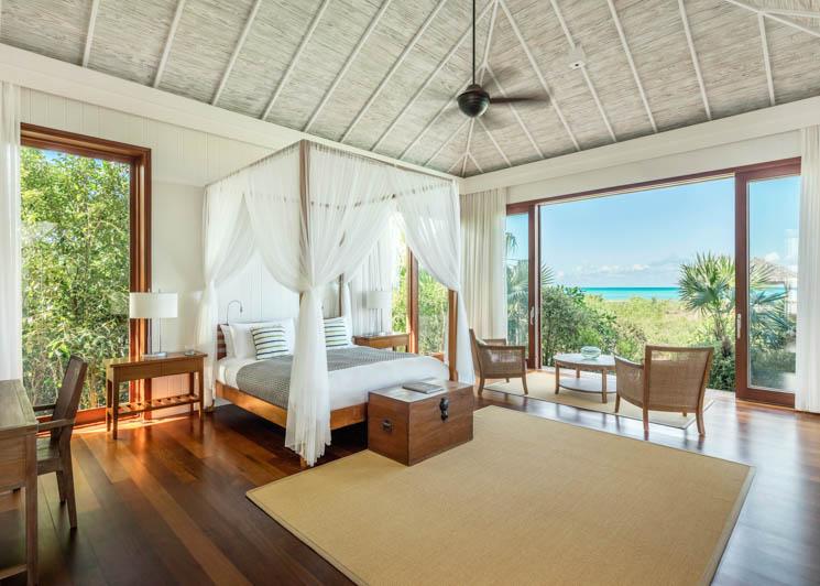 COMO Parrot Cay Tamarind Master Bedroom