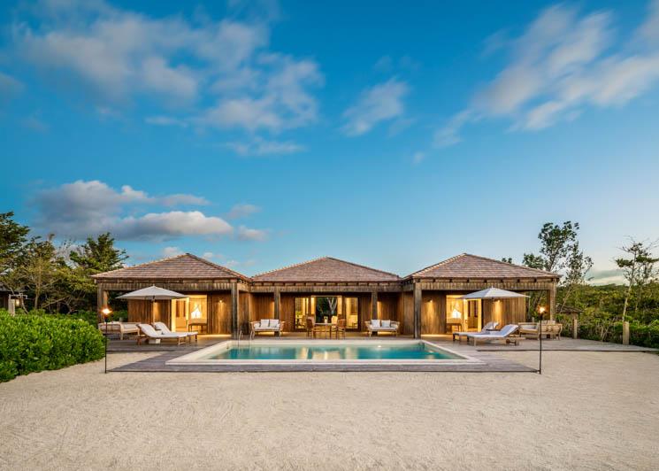 COMO Parrot Cay Two Bedroom Beach Villa Exterior