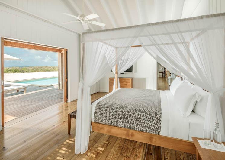 COMO Parrot Cay Two Bedroom Beach Villa Bedroom