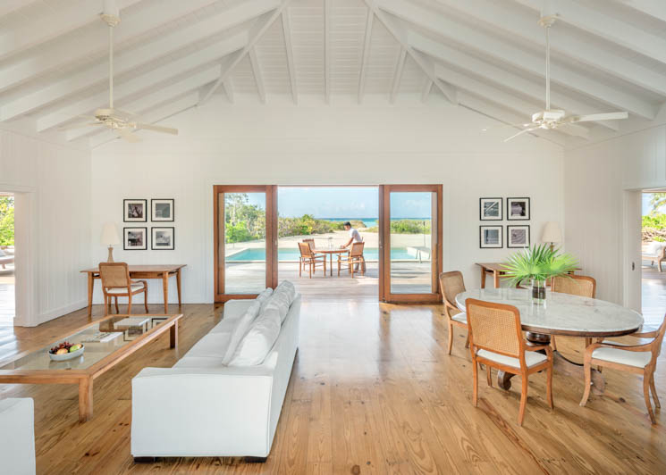 COMO Parrot Cay Two Bedroom Beach Villa Lounge