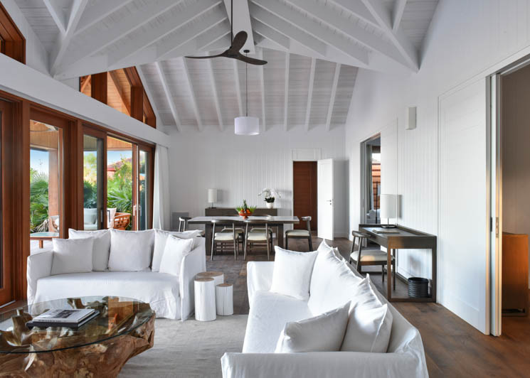 COMO Parrot Cay Two Bedroom Beach House Lounge