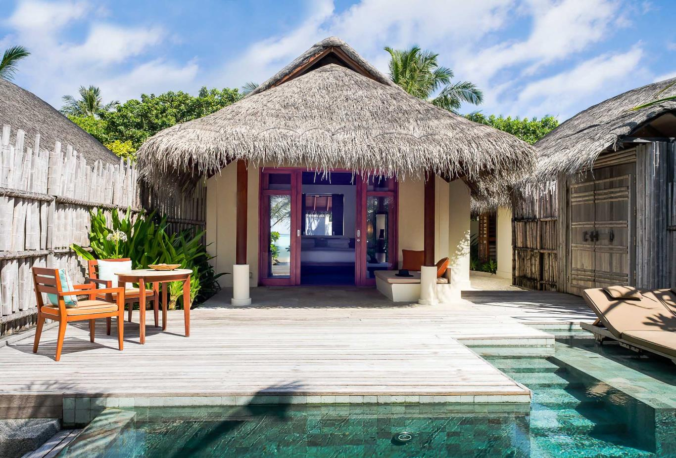 Anantara Pool Villa pool deck
