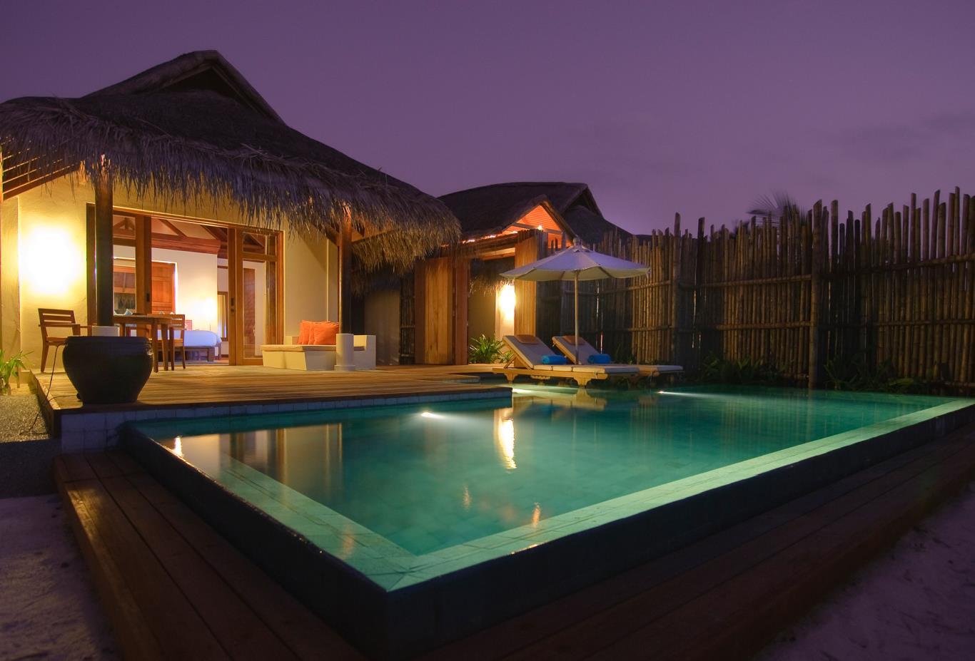 Anantara Pool Villa evening