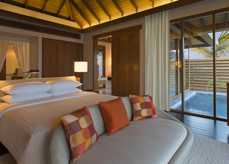 Ocean Pool bungalow bedroom
