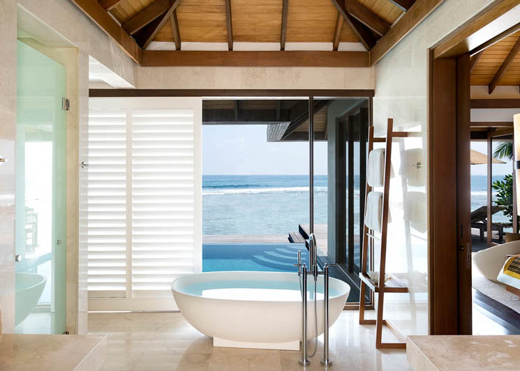 Ocean Pool bungalow bathroom