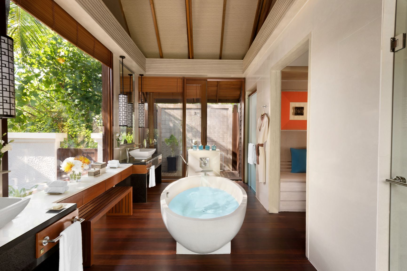 Two Bed Beach Villa   Bathroom