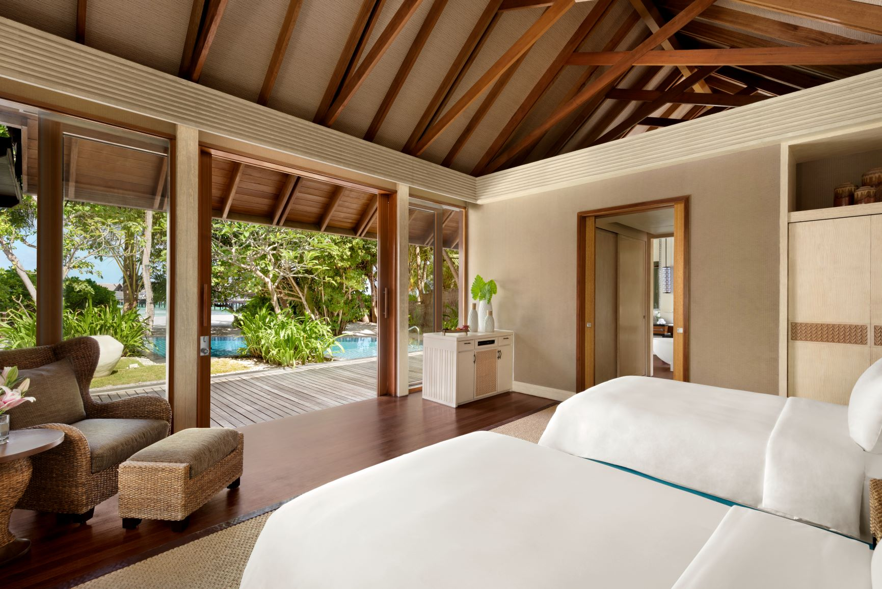 Two Bed Beach Villa   Twin Bedroom