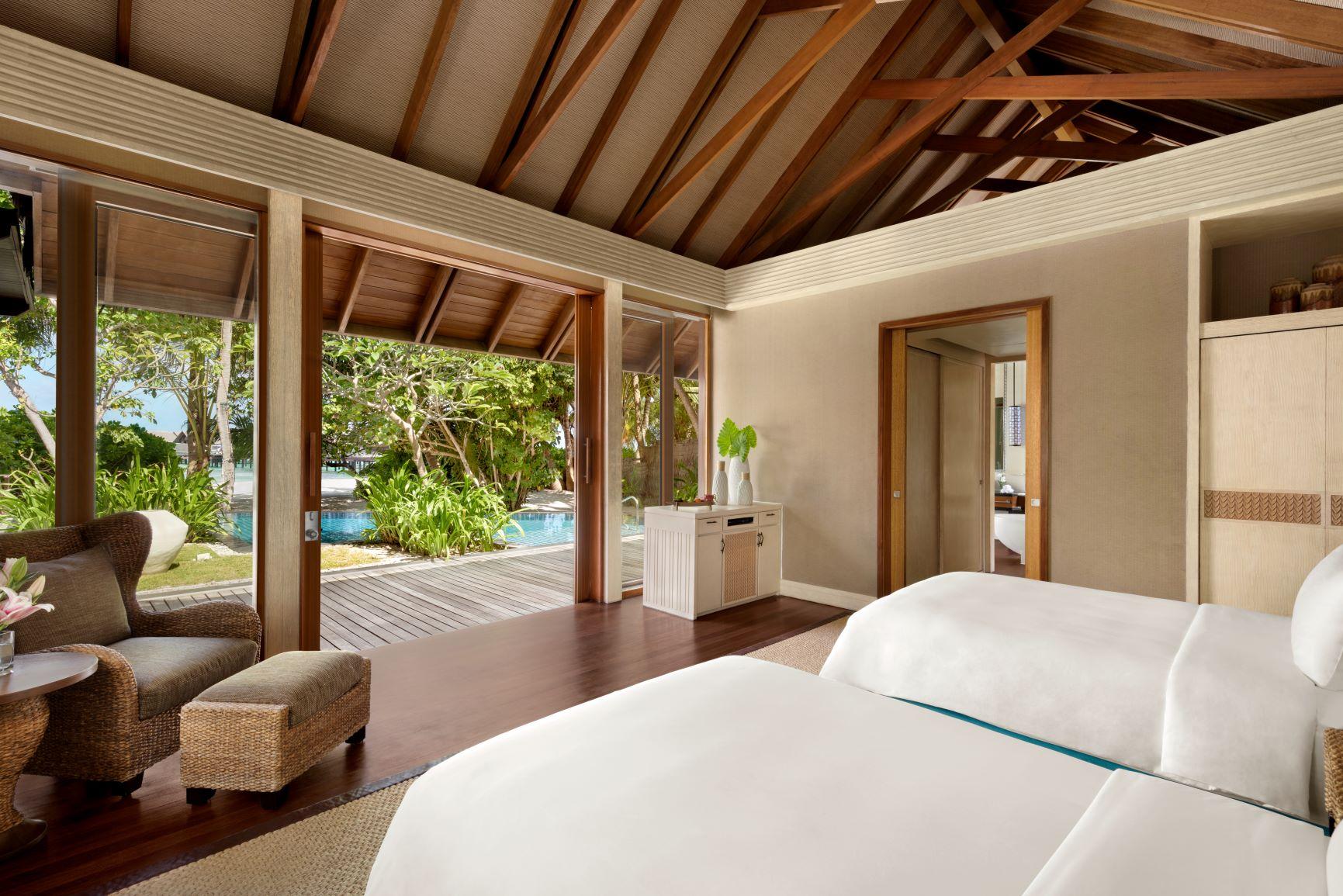 Two Bed Beach Villa   Twin Bedroom