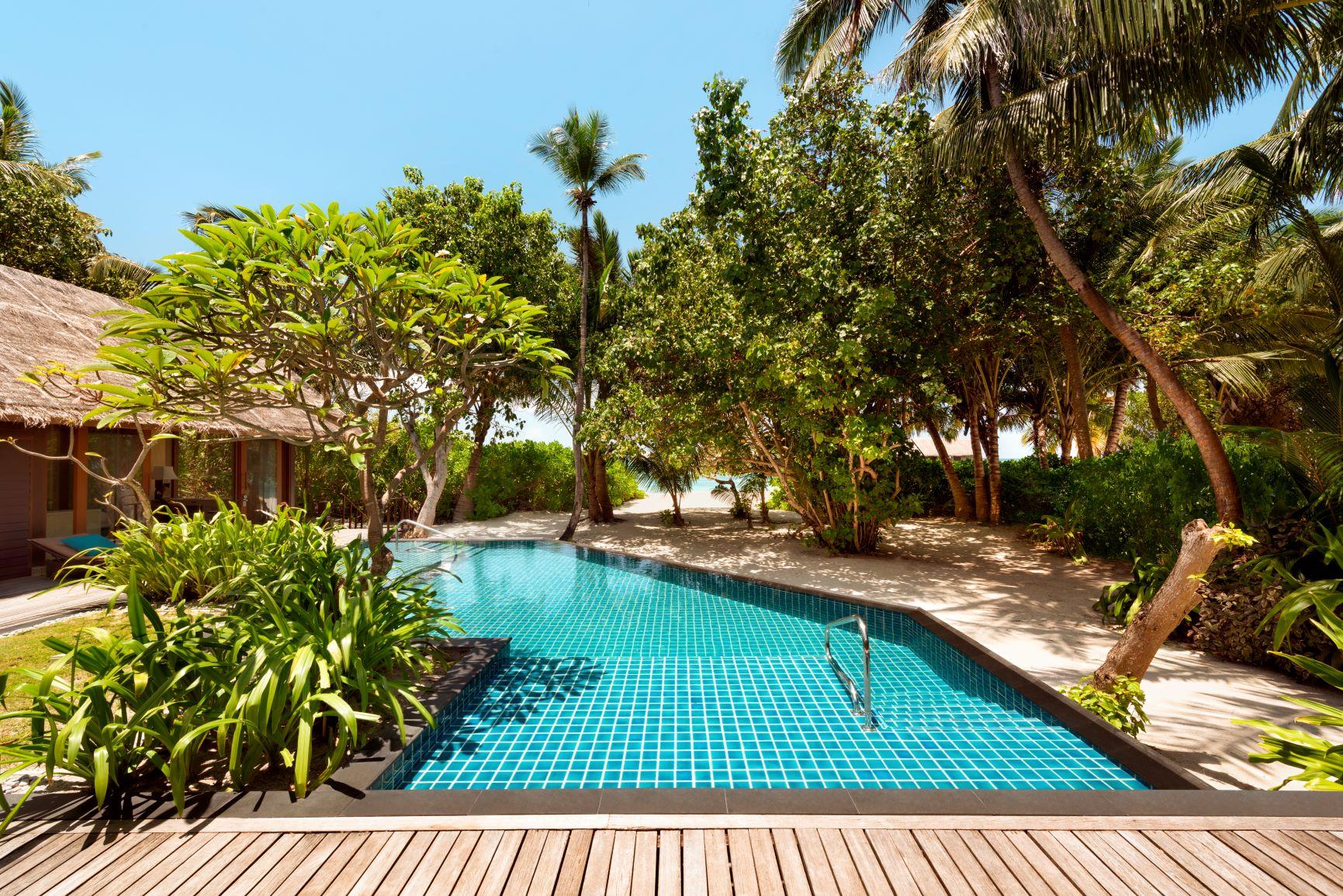 Two Bed Beach Villa   Pool