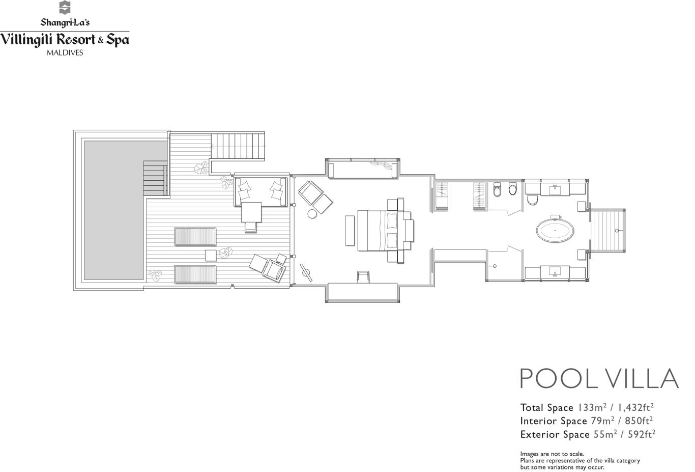 Floorplan Pool Villa