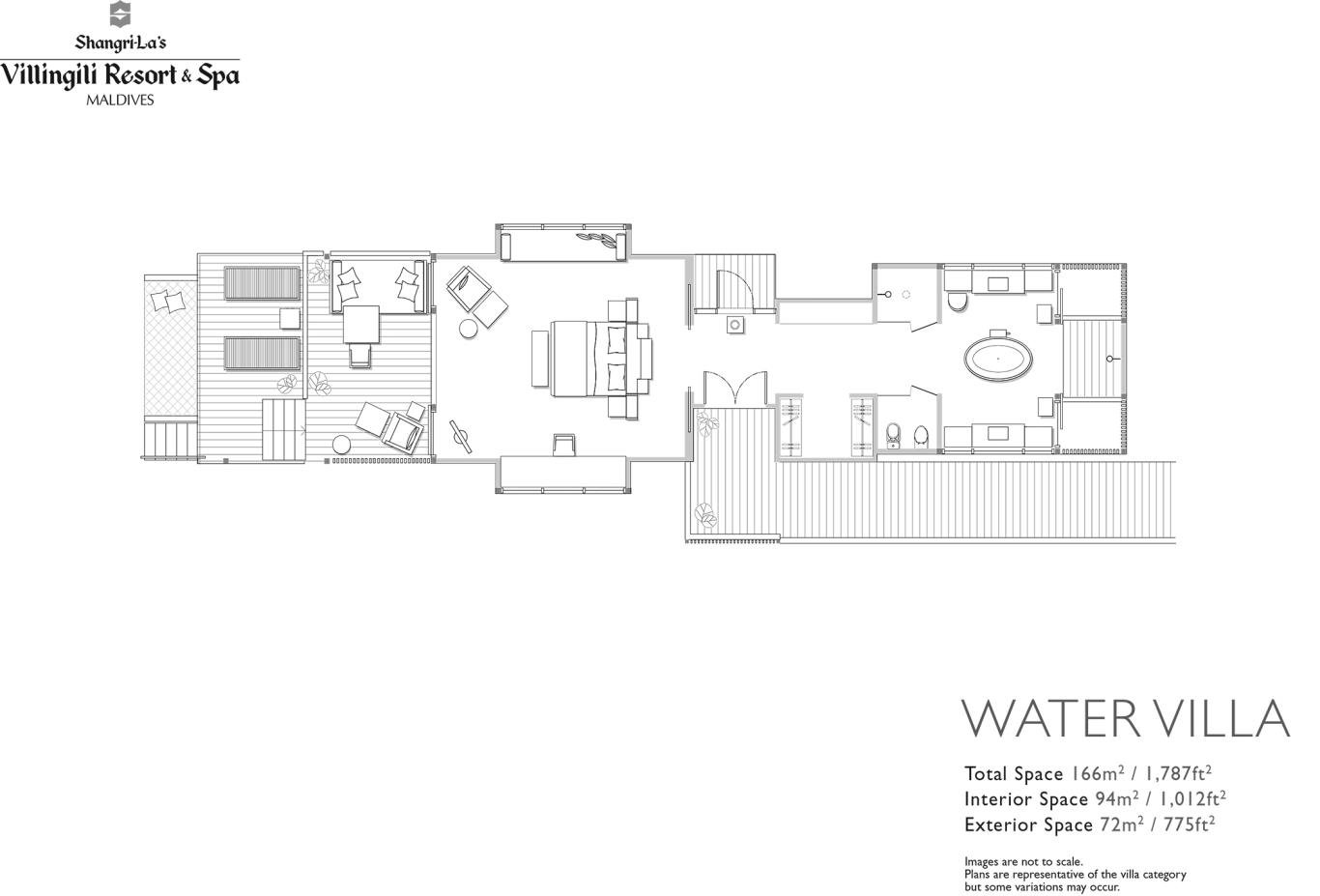 Floorplan Water Villa