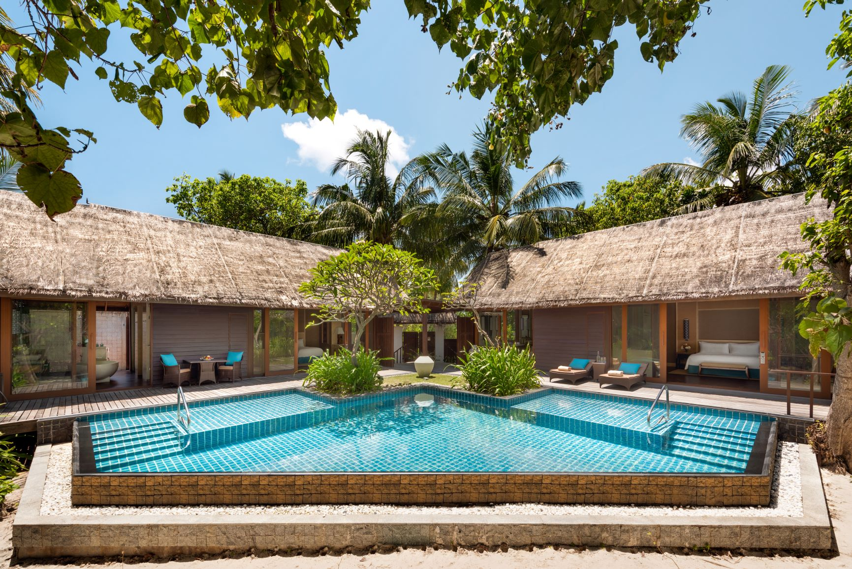 Two Bed Beach Villa   Overview