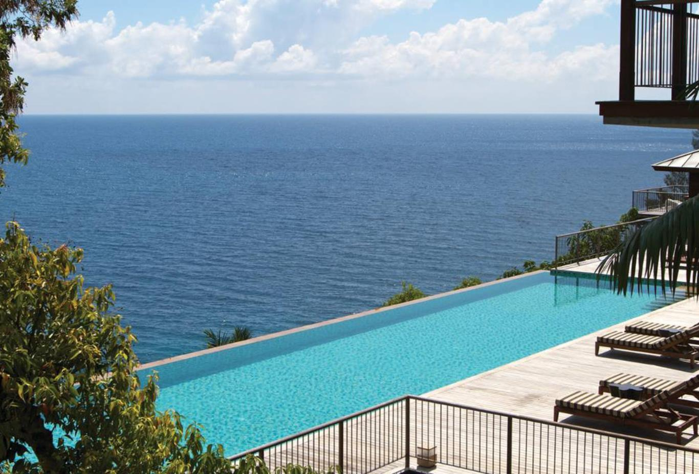 4 Bed Residence pool and view