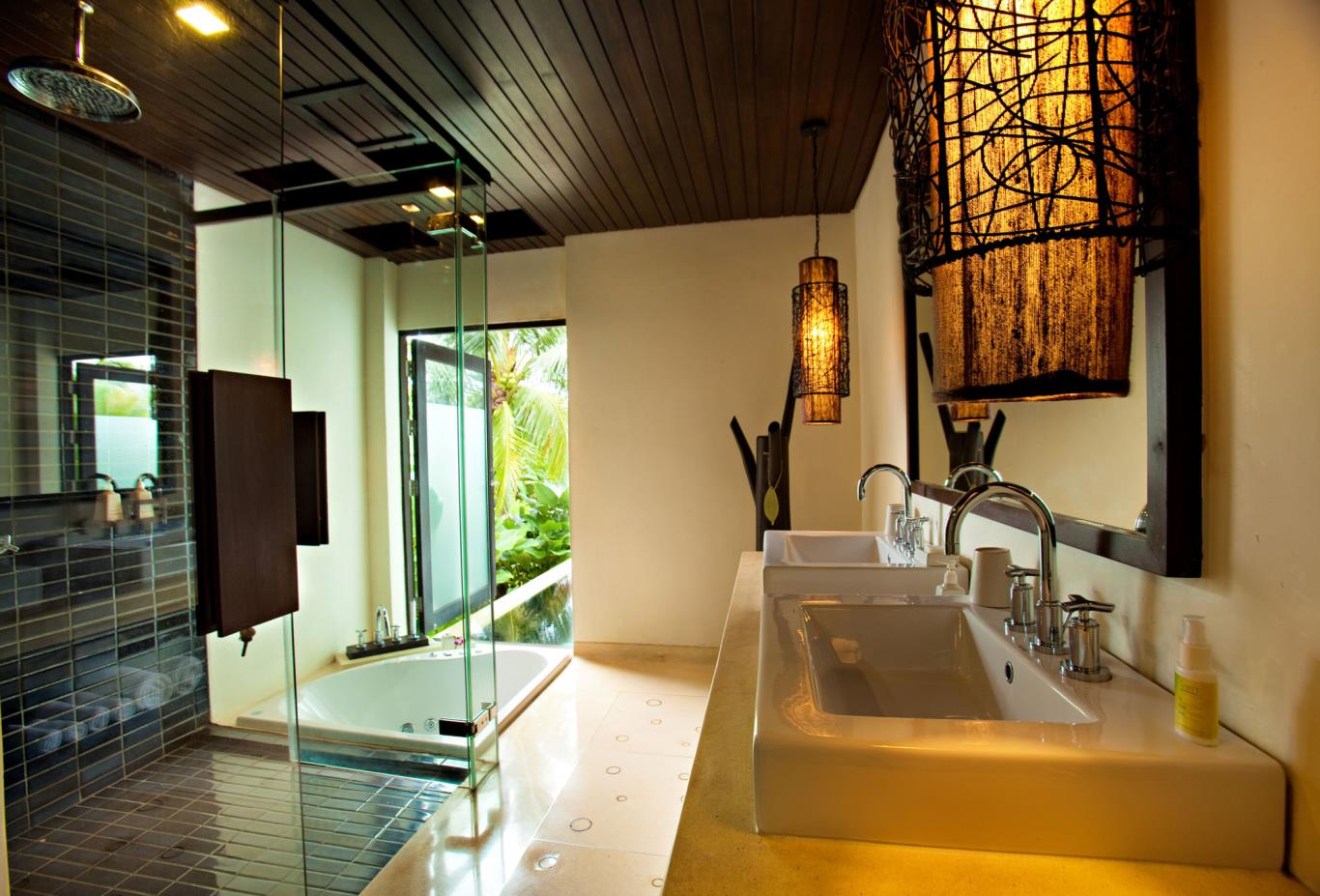 Two Bedroom Pool Villa Bathroom