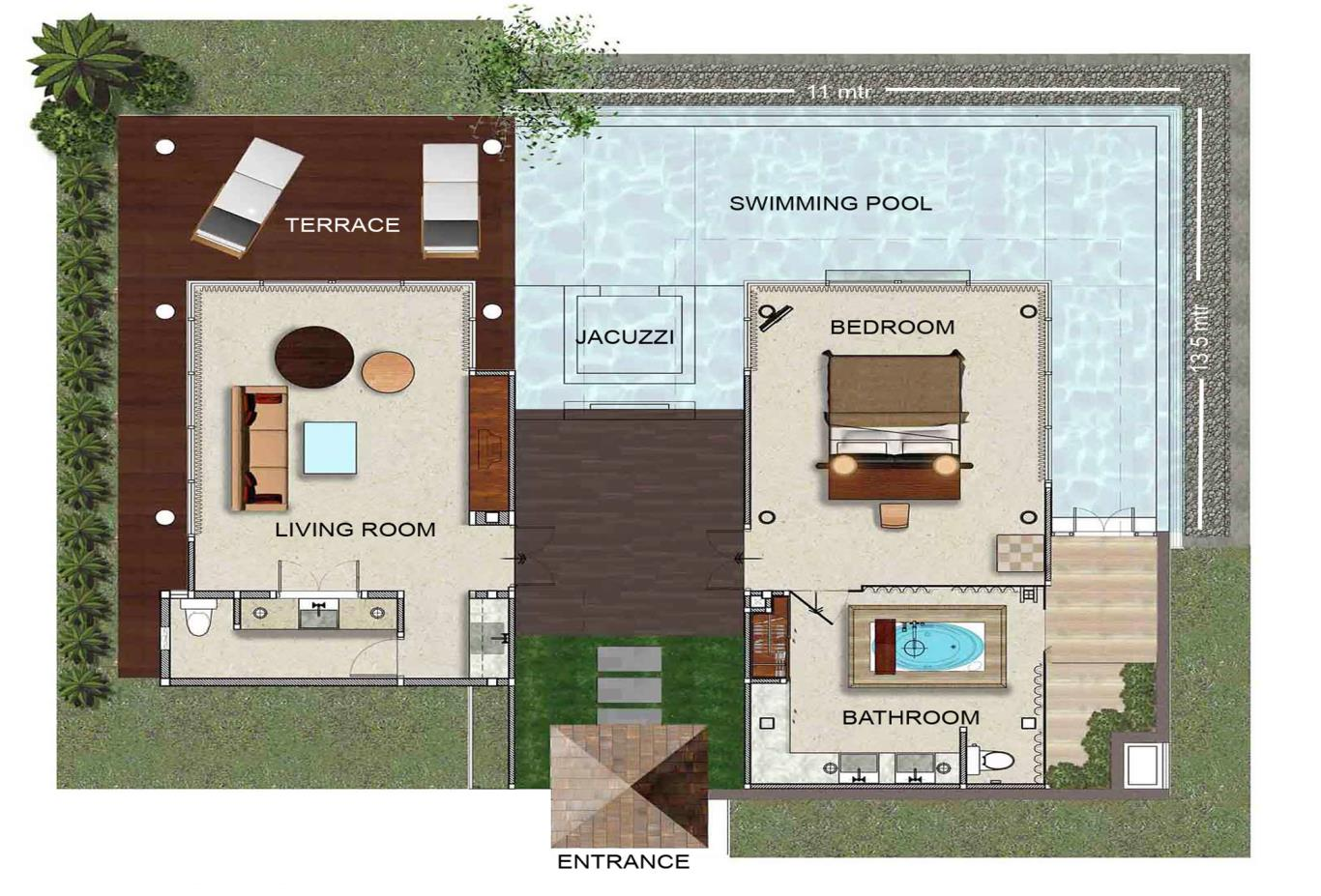 Floor-PlanVijitt-Pool-Villa