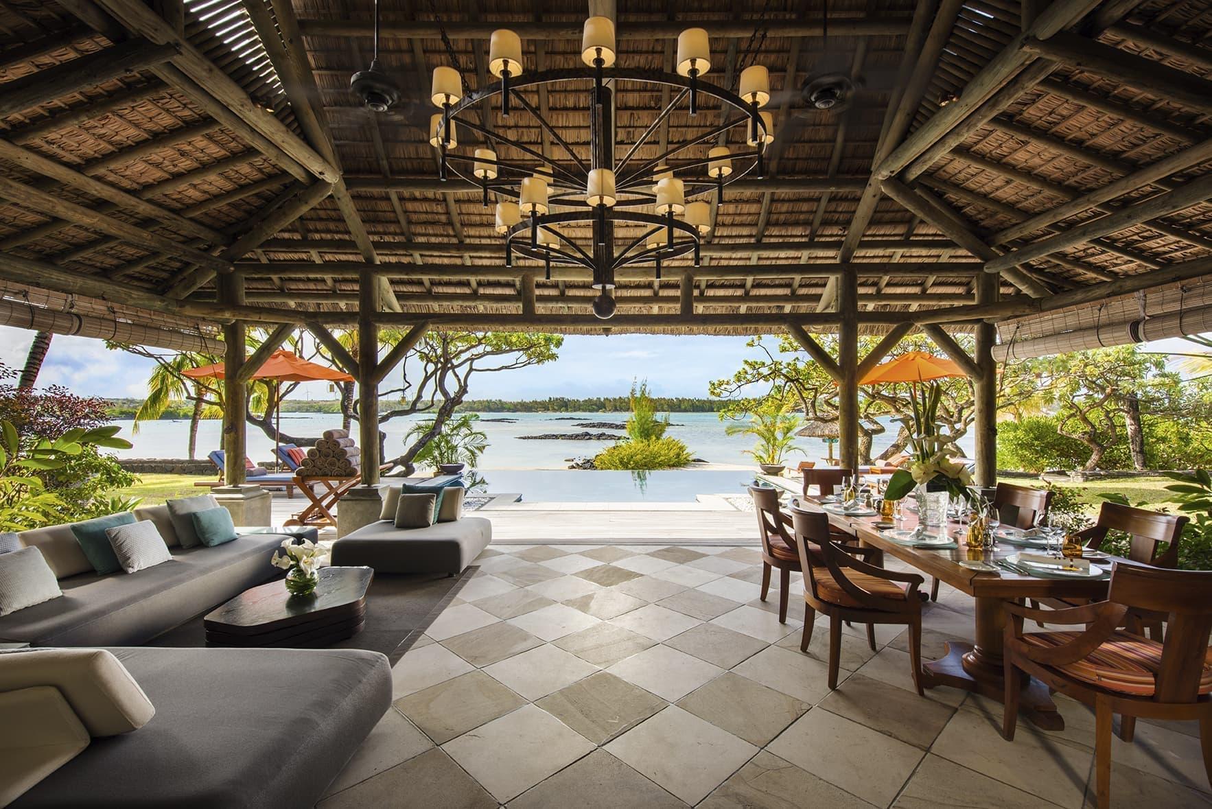 Princely Villa terrace