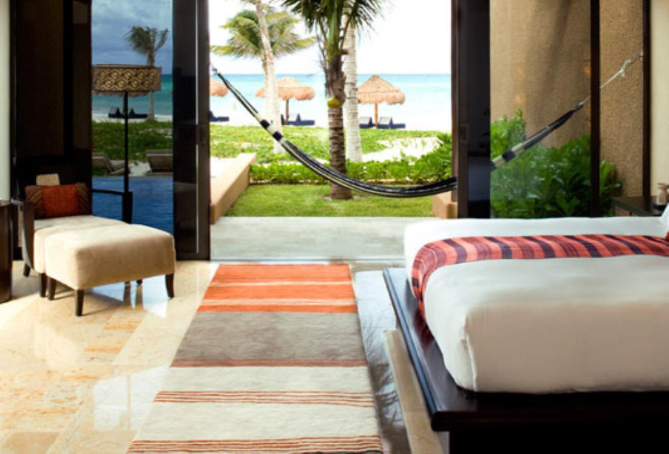 Ocean Front Three-Bedroom Pool Villa at The Haven