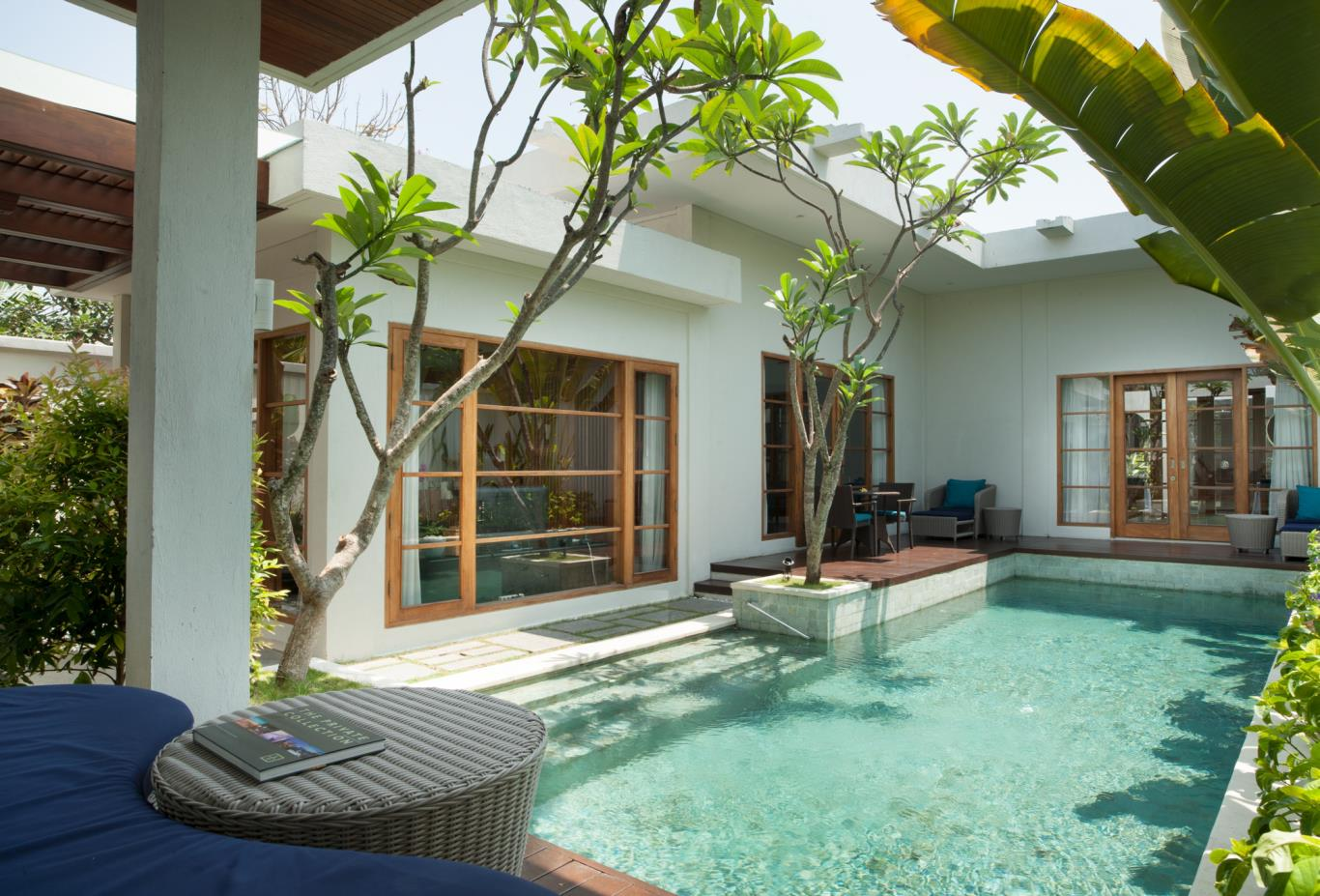 Swimming pool of One Bedroom Pool Villa
