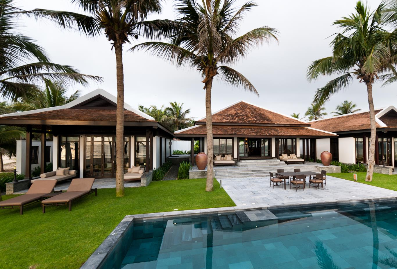 Two Bedroom Pool Villa exterior