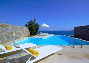 Thalassa Villa 3 Bedroom Seafront view