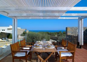 The Olives house outdoor dining