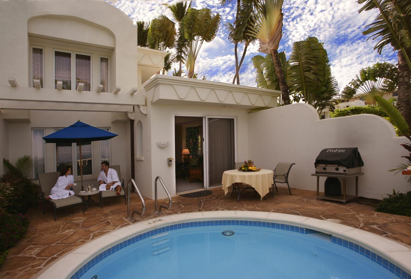 Ocean Front Villa Plunge Pool