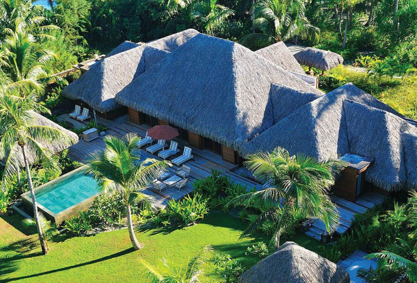 Three-Bedroom Beachfront Villa Estate