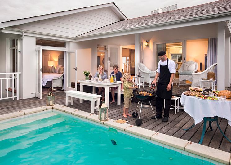 The Plettenberg Lookout Villa Pool Area
