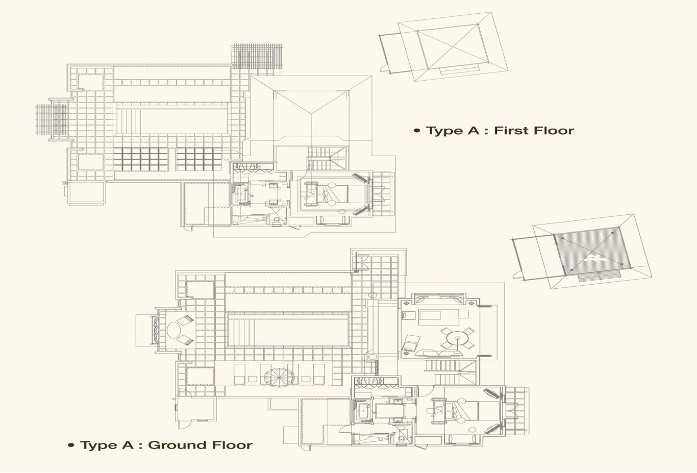 Beach Villa Floorplan A