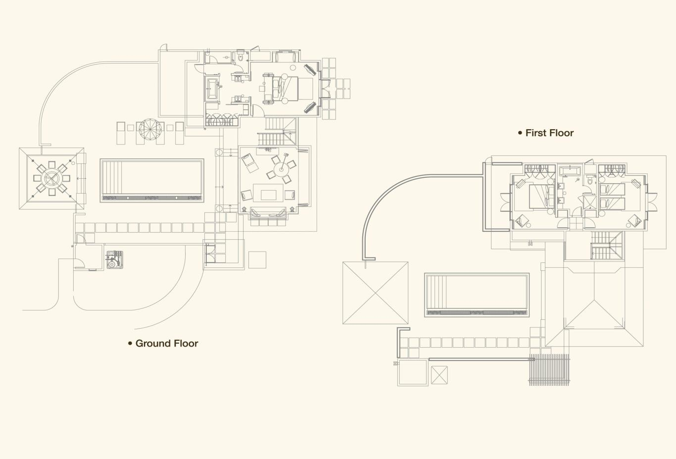Family Villa Floorplan
