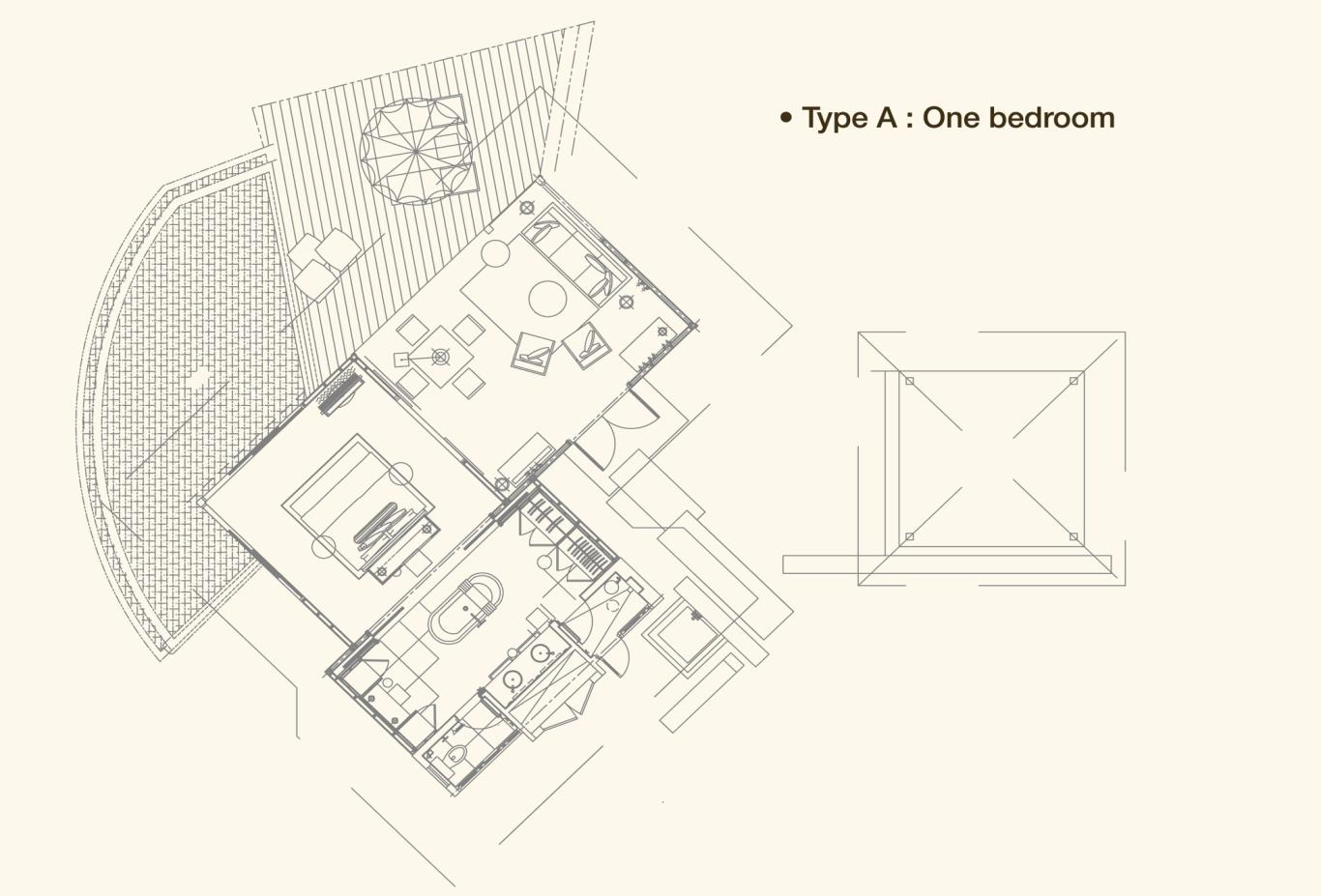 Hillside Villa Floorplan A